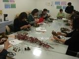 クリスマスリース教室