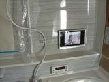 浴室テレビの様子