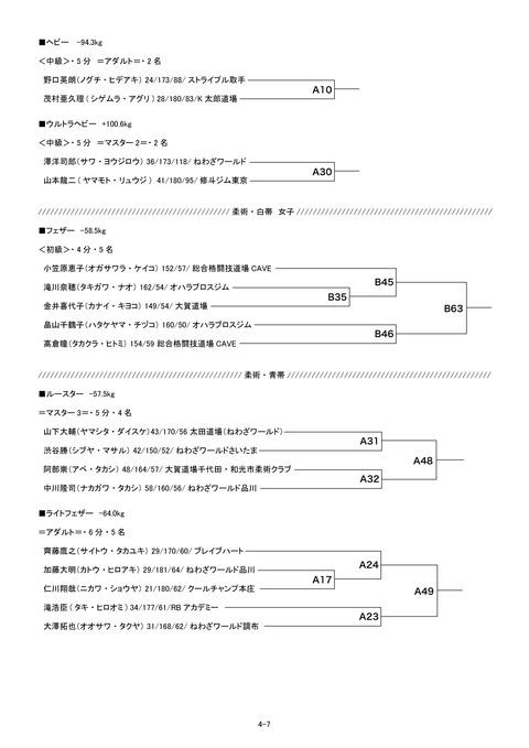 2071トーナメント表4