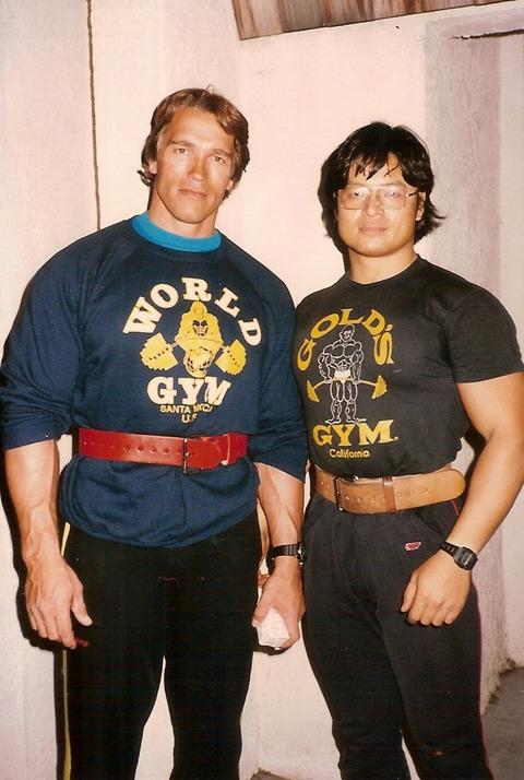 1985.LA.WorldGymArnold