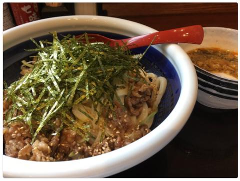 丸亀製麺『旨辛肉つけうどん』