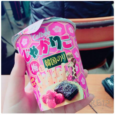 じゃがりこ『梅と韓国のり風味』