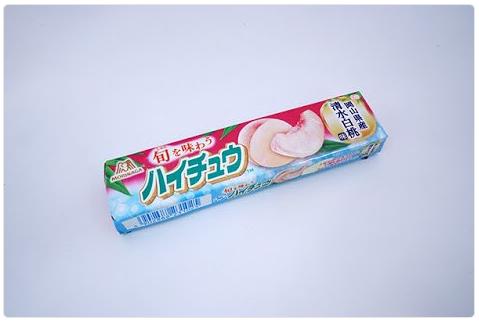ハイチュウ『岡山県産清水白桃味』