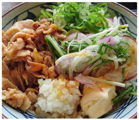丸亀製麺『こく旨 豚しゃぶぶっかけ』