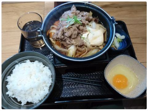 吉野家『牛すき鍋膳』
