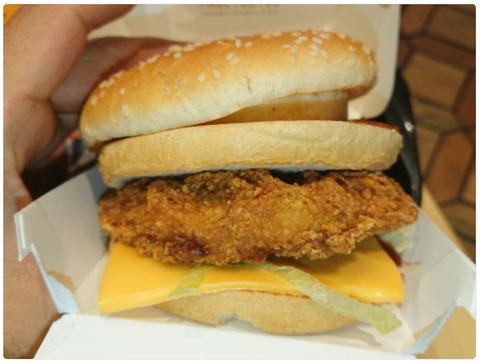 マック『デラックスバーベキュー チキン』