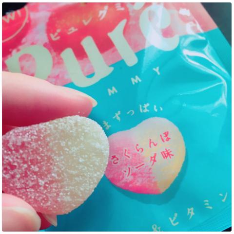 ピュレグミ『さくらんぼソーダ』