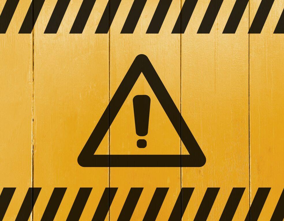 警告のイメージ_胡麻油