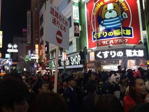 田舎者の14歳JCが、渋谷ハロウィンに呑まれた結果wwwwwのサムネイル画像
