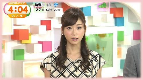 n1-牧野結美アナ-めざましテレビアクア-2015年9月7日-02