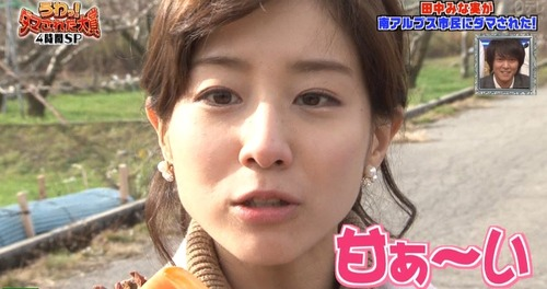 【悲報】田中みな実アナ(29)、ガチでヤバイ女だったwwwwwwのサムネイル画像