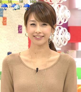 加藤綾子アナ(gif画像)本番中に太もも丸出しでエッロ過ぎる事故wwwwww