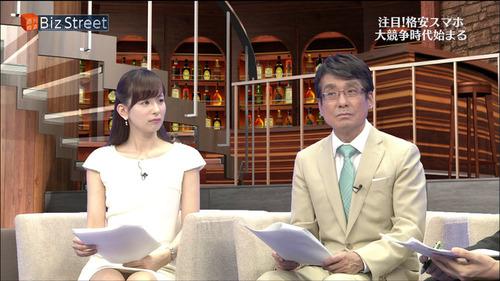 【放送事故】皆藤愛子アナがパンチラ連発wwwタテ線くっきりwwwwwのサムネイル画像