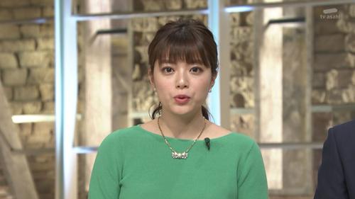 【放送事故】爆胸女子アナさん(Fカッフ゜)、生中継中に揉まれまくるwwwwwのサムネイル画像