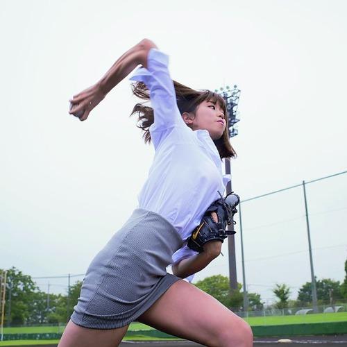【最速】稲村亜美の球速wwwwとんでもなかったwwww(※動画あり)のサムネイル画像