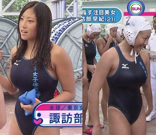 【画像】水球女子「試合中に選手の水着を破ったらwww」のサムネイル画像
