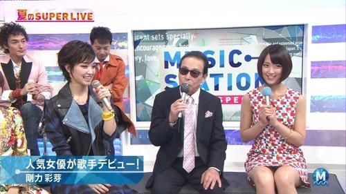 【画像】竹内由恵「Mステでわざとパンチラさせてました」→→→のサムネイル画像