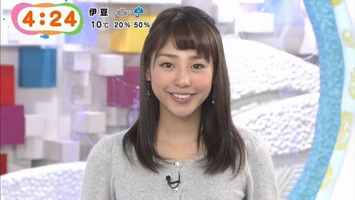 【シコ画像】岡副麻希アナ、「見えてはいけない毛」が映る事故wwwwwwのサムネイル画像