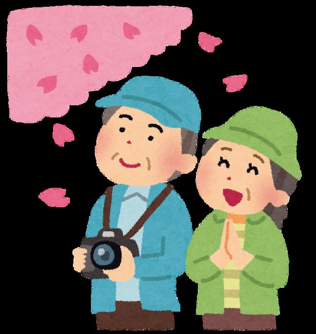 【悲報】上野公園で花見をしていた爺さん無事コロナ感染