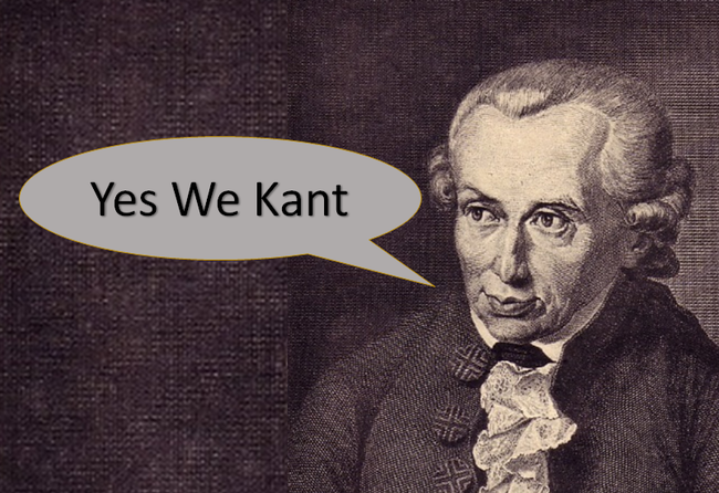 Yes-We-Kant