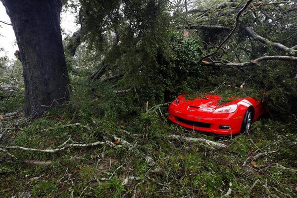 米・ハリケーン「フローレンス」で4人死亡.......停電60万戸、洪水も
