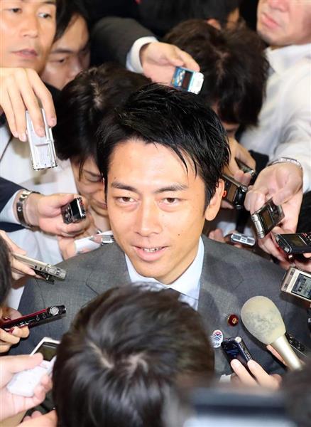 <小泉進次郎氏> 石破氏への投票理由を語る .........「違う声を強みに変える自民党でなければ」