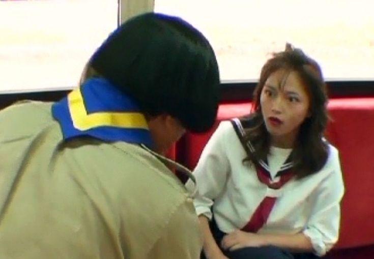 【絶対に笑ってはいけない】<川口春奈>スケバン役で大暴れ!...............................