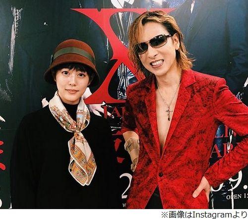 <高畑充希> YOSHIKIと2ショット!.......「緊張で顔ガチガチ」、