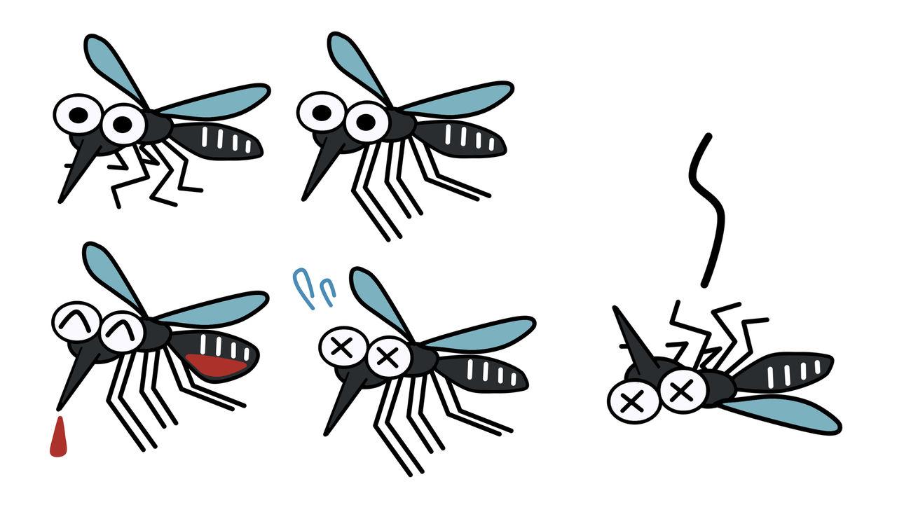 【朗報?】蚊は35℃以上の暑さでは活動できないらしい...............