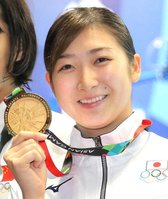 美熟女スイマー池江璃花子(18)がアジア大会のMVPに