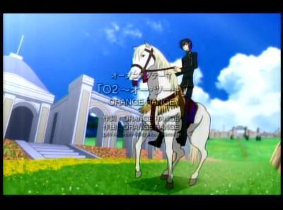 ルルーシュと白馬