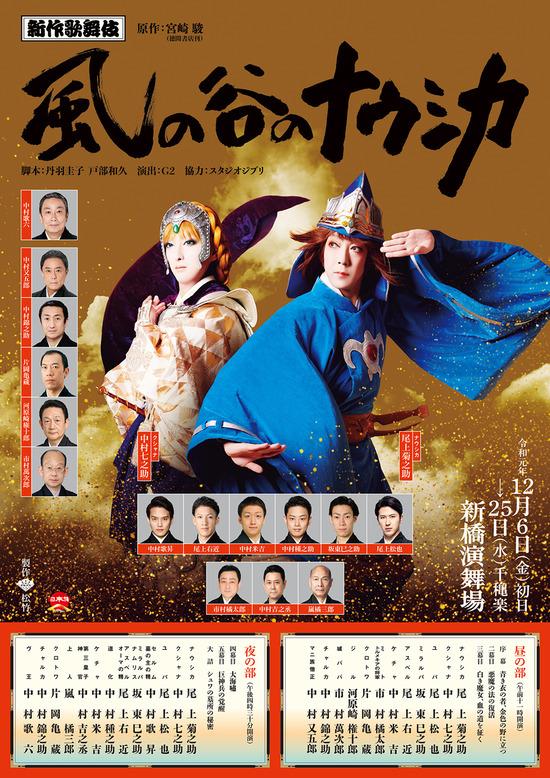 【画像】歌舞伎化された「風の谷のナウシカ」をごらんください
