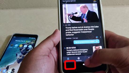 【画像】Android10.下部ボタンが完全撤去!全機種ジェスチャー操作に統一wwwwwww