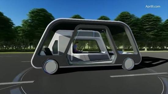 【画像】このスイートルーム付きの自動走行車が凄いと話題にwwwwww