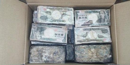 【画像】「何かの役に立ててください」愛媛県庁に激しく劣化した1億円が寄付される...!wwwwwww