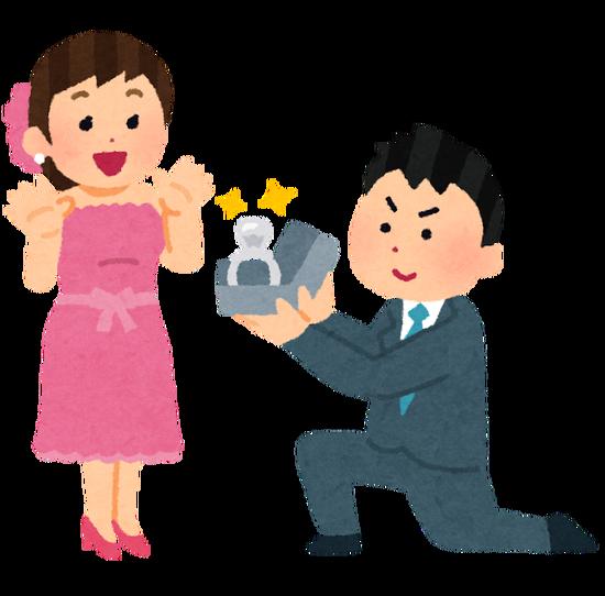 プロポーズ失敗したけど質問ある??