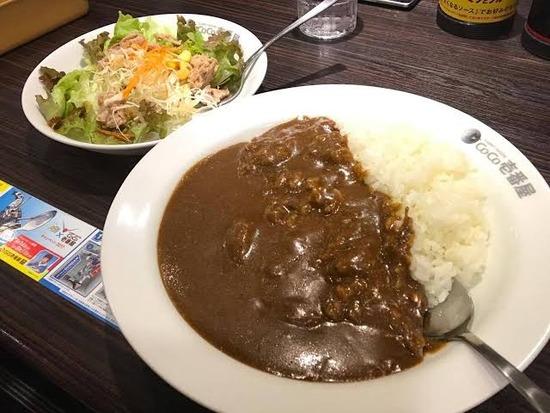【画像】ココ壱の10辛カレーがヤバイwwwwwwww