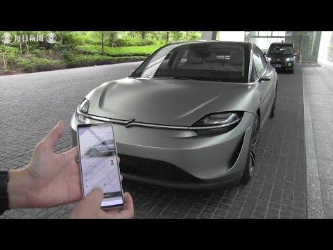 【画像】ソニーの電気自動車「VISION-S」がかっこいいwww