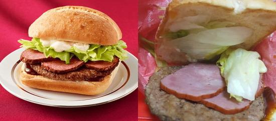 【画像】マクドナルド「ローストビーフバーガーを出したがこれでは利益が…。1枚減らすかww客にはバレんだろww」 → 結果…