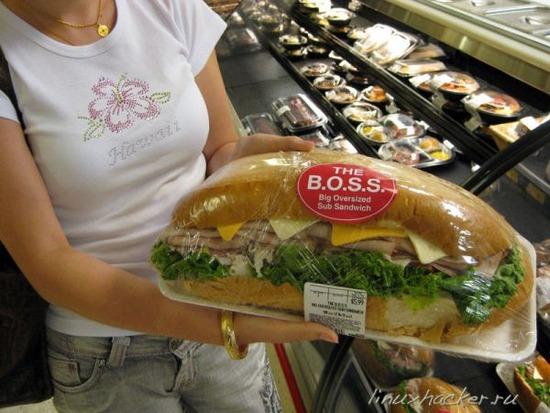 【画像】アメリカの6ドルのサンドイッチがヤバ過ぎると話題にwwwwwww
