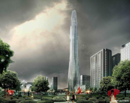中国で完成予定の超高層ビルwww