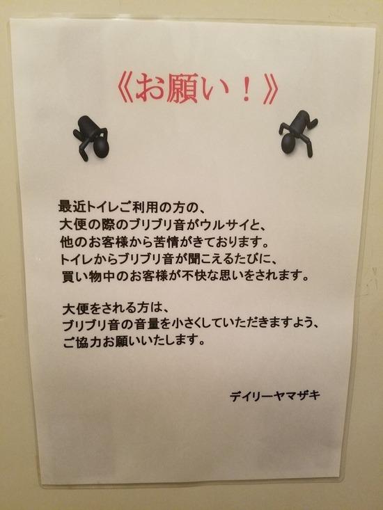 【悲報】店「トイレの時、ブリブリ音が煩く迷惑してる。音を下げろ」