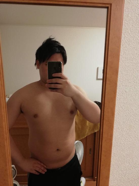 【画像】体重110のデブが3ヶ月糖質制限した結果www