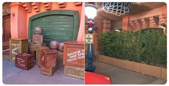 【画像】ディズニーランドの「木箱」が消えた!?「インスタ映え」が原因との指摘も・・・