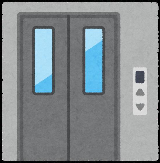 【動画】なかなかエレベーターが来ないためドアを無理矢理開けた結果wwwwww