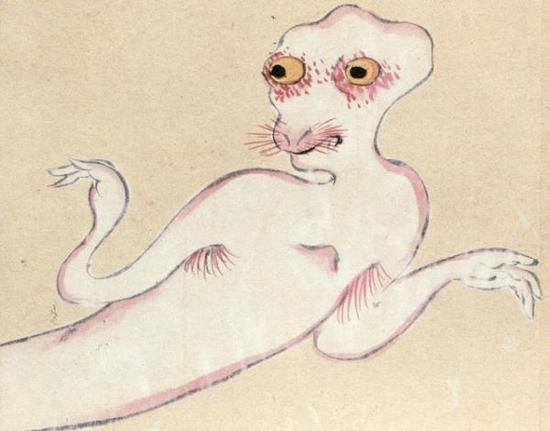 【画像】古い妖怪の絵って怖すぎるだろwwwwwwwwwww