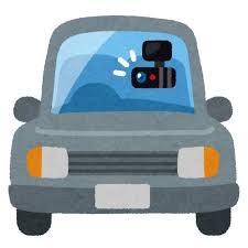 【GIF】ドライブレコーダーにとんでもないものが映ってしまう・・・・