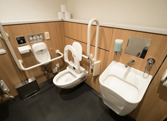【悲報】『障がい者に見えない人』が多機能トイレから出てきたwww