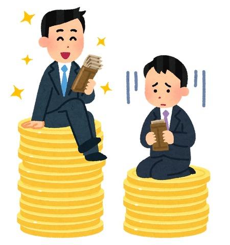 【悲報】年収180万円程度の日本人が「激増」する未来。2020年代には世界で格差の拡大が加速する