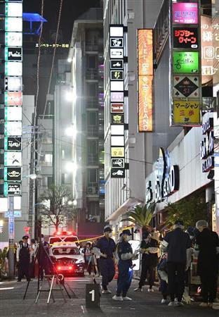歌舞伎町の女さん、ビルの8階から道を歩いてる男へダイブした結果・・・
